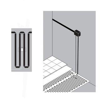 vloerverwarmingsmat aansluiten op thermostaat