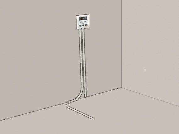 thermostaat aan muur