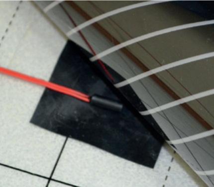 vloersensor op ondervloer