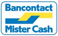 Verwarmingaktie.nl Mister Cash Bancontact betaling