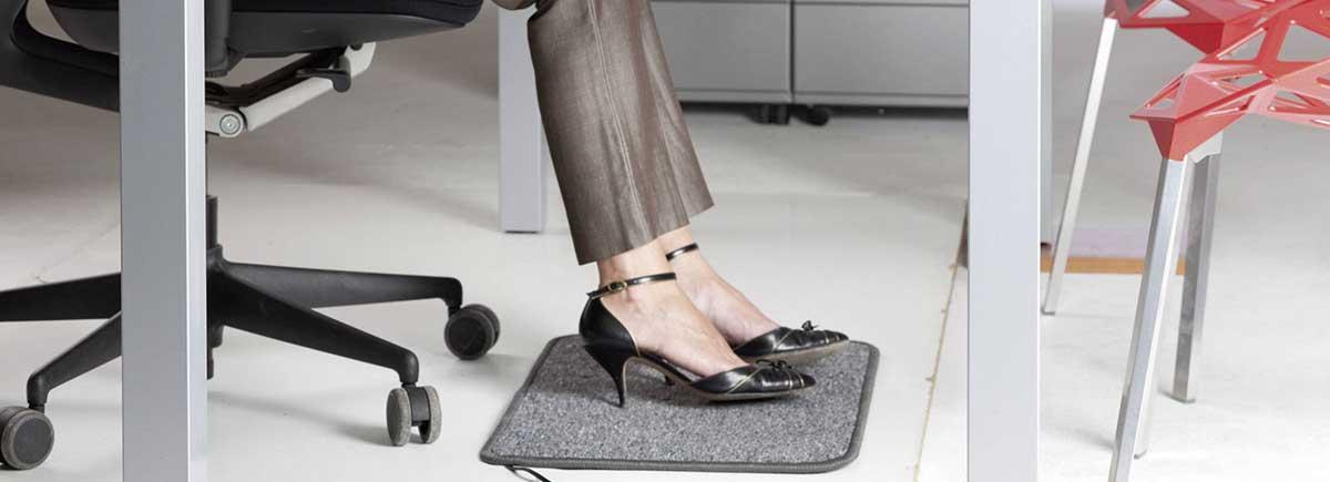 warme voeten mat