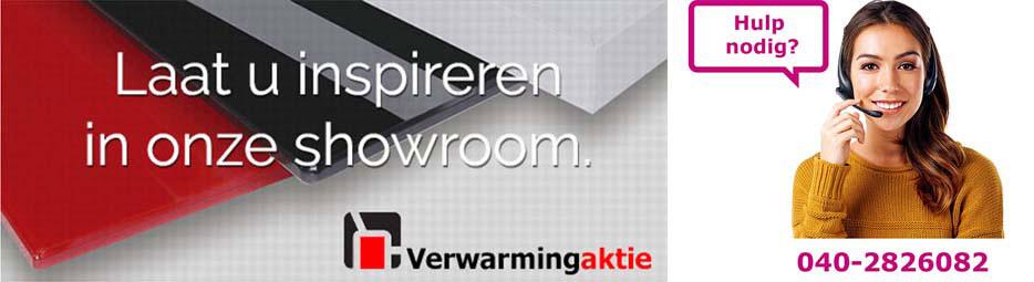 infraroodverwarming hulp nodig showroom