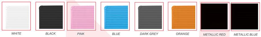 w-radiant kleuren